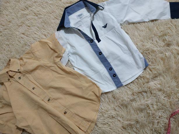 Рубашка Armani и Kiabi 92-104