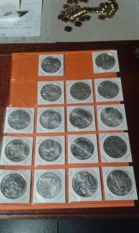 170€ Coleção de 17 moedas de 1.000$ escudos - prata.