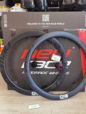 Rodas Estrada New Race Carbon C50 C4A Disco NOVAS