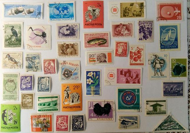 Komplet znaczków pocztowych VIII - 40 szt.