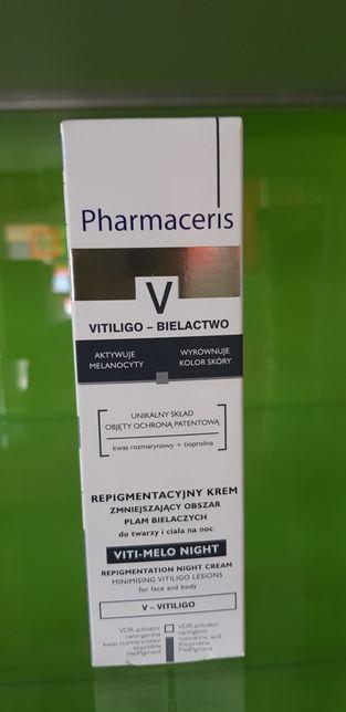 Pharmaceris V Vitiligo repigmentacja krem zmniejszaja plamy bielacze