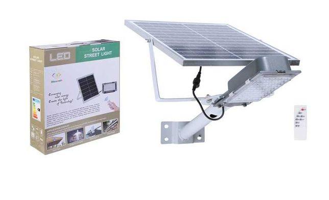 Уличный LED светильник-фонарь на 120W с солнечной панелью Ліхтар