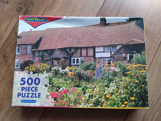 Puzzle 500 elementów, domek na wsi