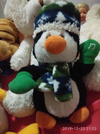 Новорічний пінгвін