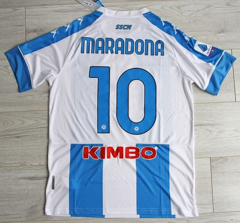 SSC NAPOLI 4th koszulka piłkarska Kappa 20/21, #10 Maradona, r. M
