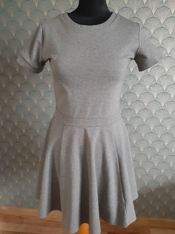Szara sukienka Sinsay