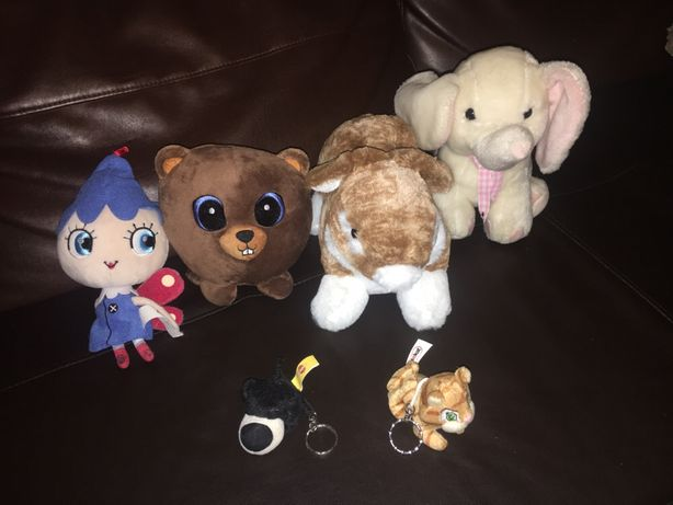 Pluszaki misie miś bóbr słoń królik pies kot dzwoneczek