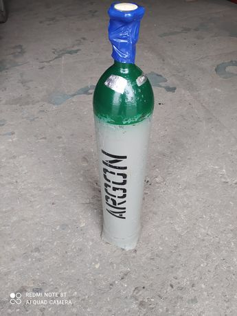 Butla Argon 8 litrów pełna
