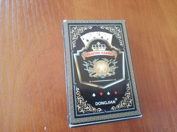 Крутые игральные карты для покера.