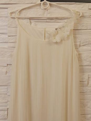 Sukienka wizytowa plisowana