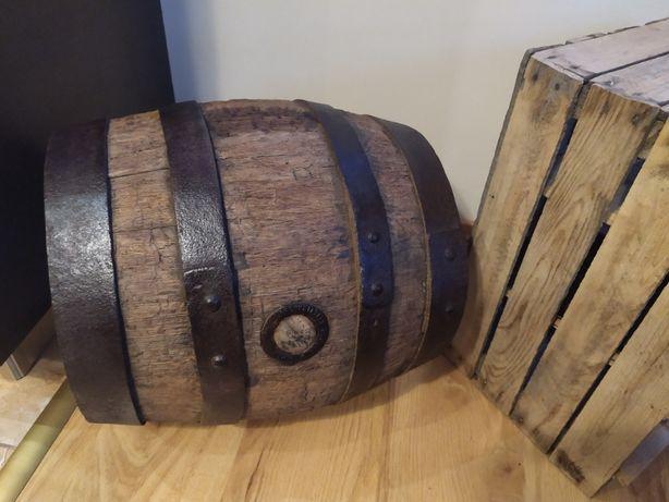 Stara Drewniana Beczka po Piwie 1885r