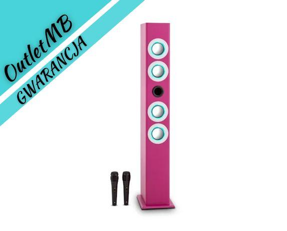 Głośnik karaoke Bateria kolumna stojąca BT USB SD MP3 FM AUX 190162