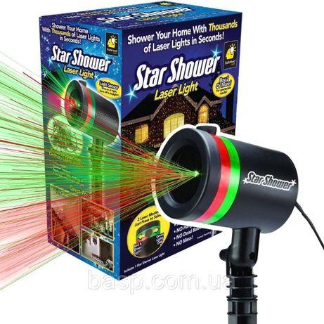 Успей! Новый Год! Лазерный проектор Star shower laser light.