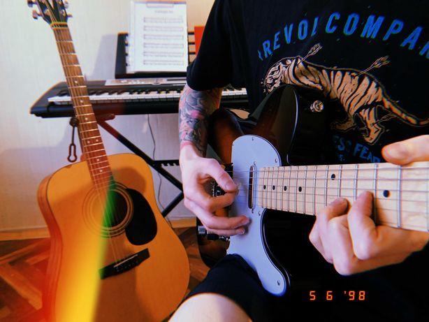 Уроки игры на гитаре онлайн или в Киеве