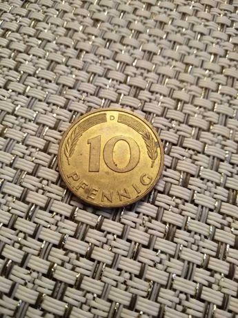 Sprzedam monetę 10 PFENNIG rok 1995