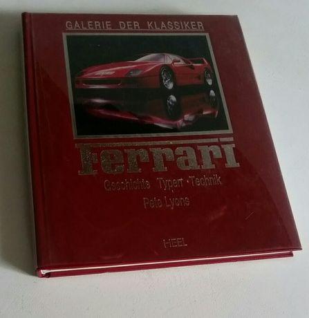 Książka klasyka Ferrari