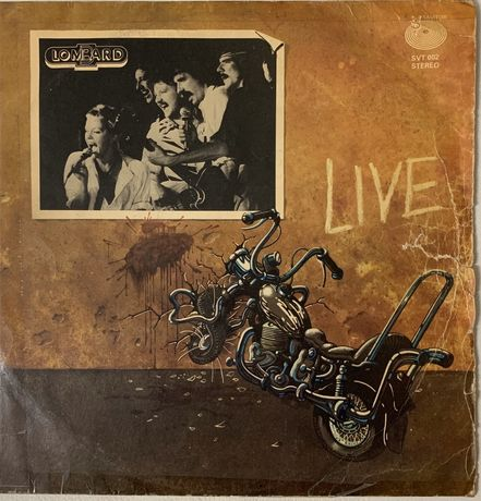 Płyta gramofonowa vinylowa LOMBARD vinyl