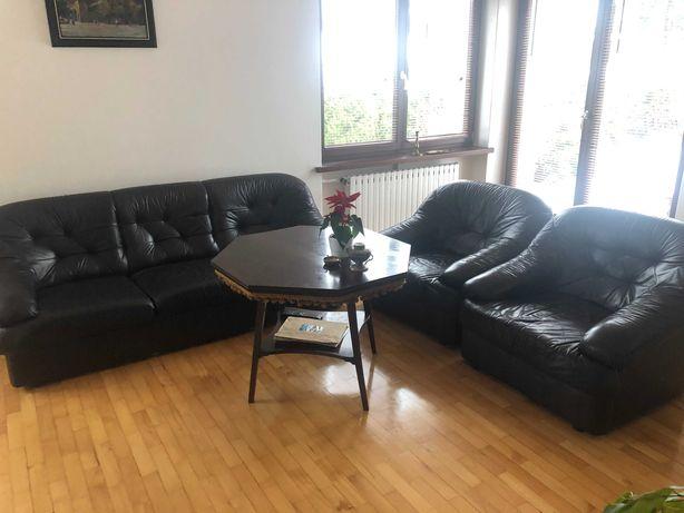 Meble skórzane Kler sofa 3 osobowa + 2 fotele