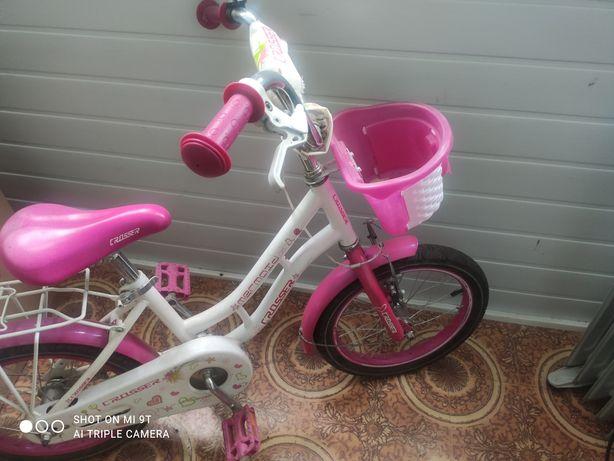 Продам детский велосипед для девочки Crosser