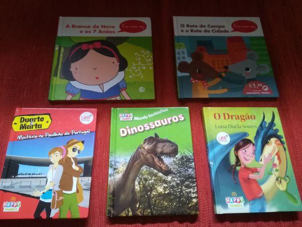 Lote  livros criança