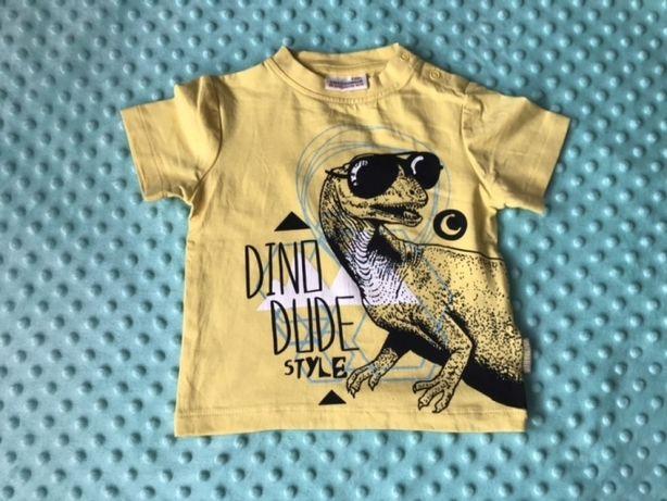 Nowy T-shirt bluzka Coccodrillo rozm. 80