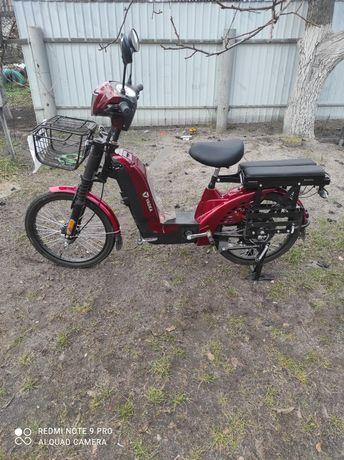 Электроскутер Электровелосипед YADEA EM 219-A