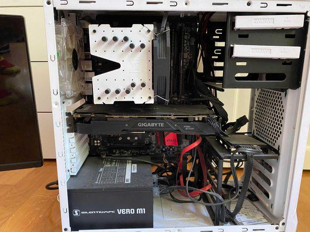 Komputer stacjonarny + Monitor I7 GTX1070