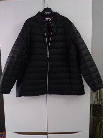 czarna kurtka pikowana wiosenna 8xl 56 duża big