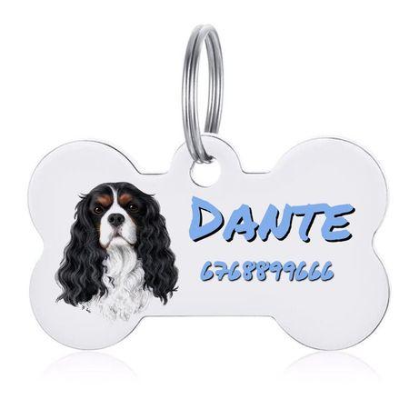 Tag adresowka identyfikator dla psa pies rozne rasy