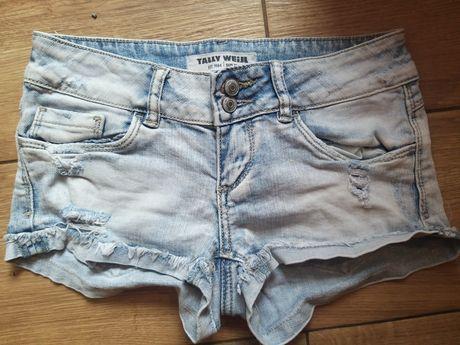 Dpodenki jeansowe 32 XS