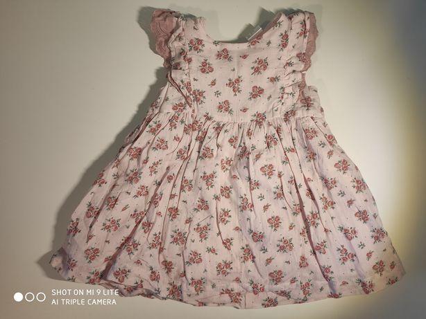 Sukienka dziewczęca 74 h&m