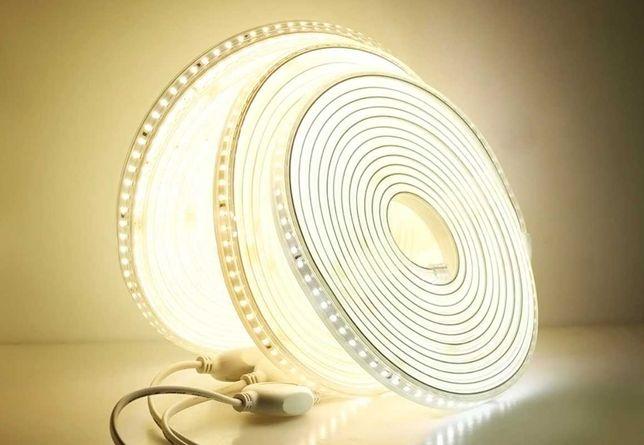 Taśma LED 5m 220V wodoodporna 120diod LED/m