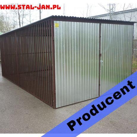 Garaż blaszany/blaszak ocynkowy 3x5, śląskie