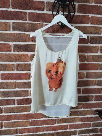 Bluzka z kotem L