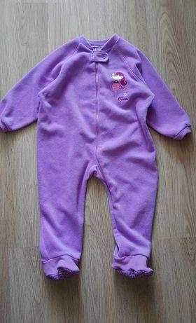 Флисовий комбинезон (пижама) 110-116 см.