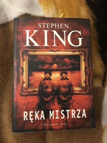 Książka ,,Ręka mistrza'' Stephen King