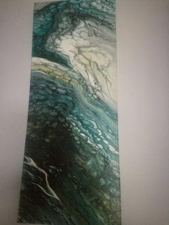 Obraz olejny na płótnie abstrakcja