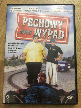 Płyta DVD film pechowy wypad