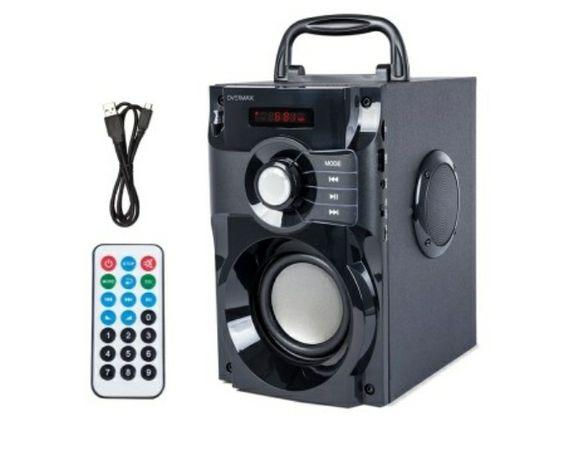 Głośnik Bluetooth Soundbeat USB radio AUX karta SD przenośny z pilotem