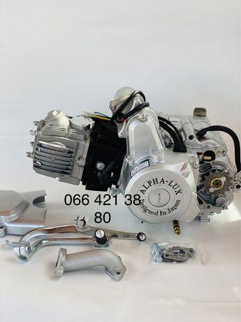 Двигатель Альфа люкс 110 куб. ( Дельта, Собур, Мустанг)