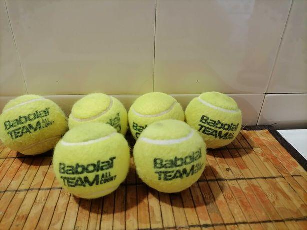 Мячики теннисные, б/у.