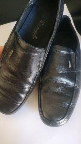 Кожаные туфли в школу,22,5см