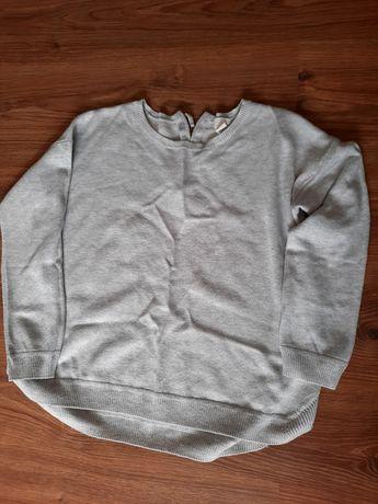 Sweter owersize szary