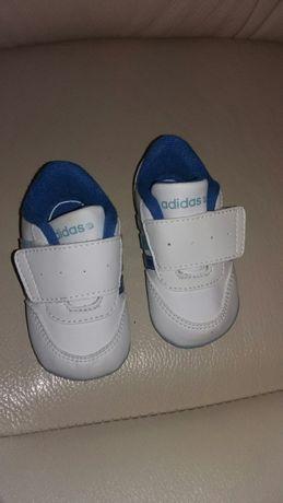 Adidas Neo niebieskie niechodki r.17