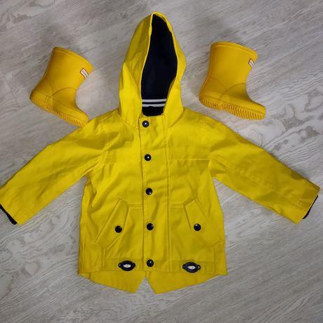 Набор на осень сапоги и куртка