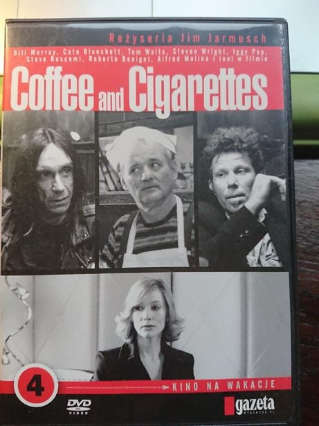 Coffee and Cigarettes - na dvd