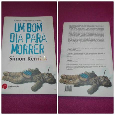 """Livro """"Um Bom Dia Para Morrer"""""""