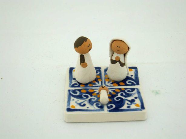 Mini Presépio Azulejo