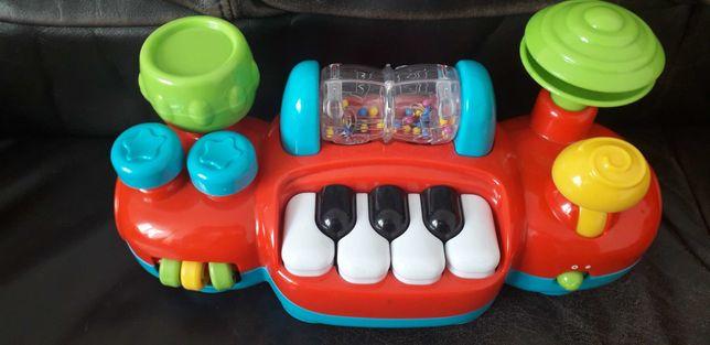 Interaktywna zabawka do wózka fotelika + kostka interaktywna Gratis