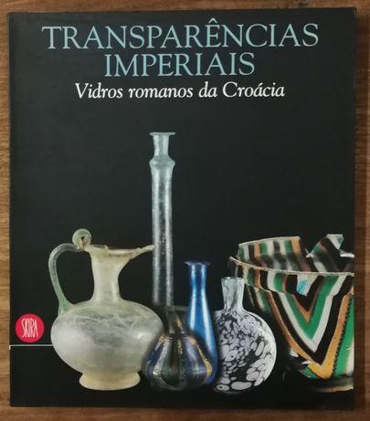transparências imperiais, vidros romanos da croácia, skira